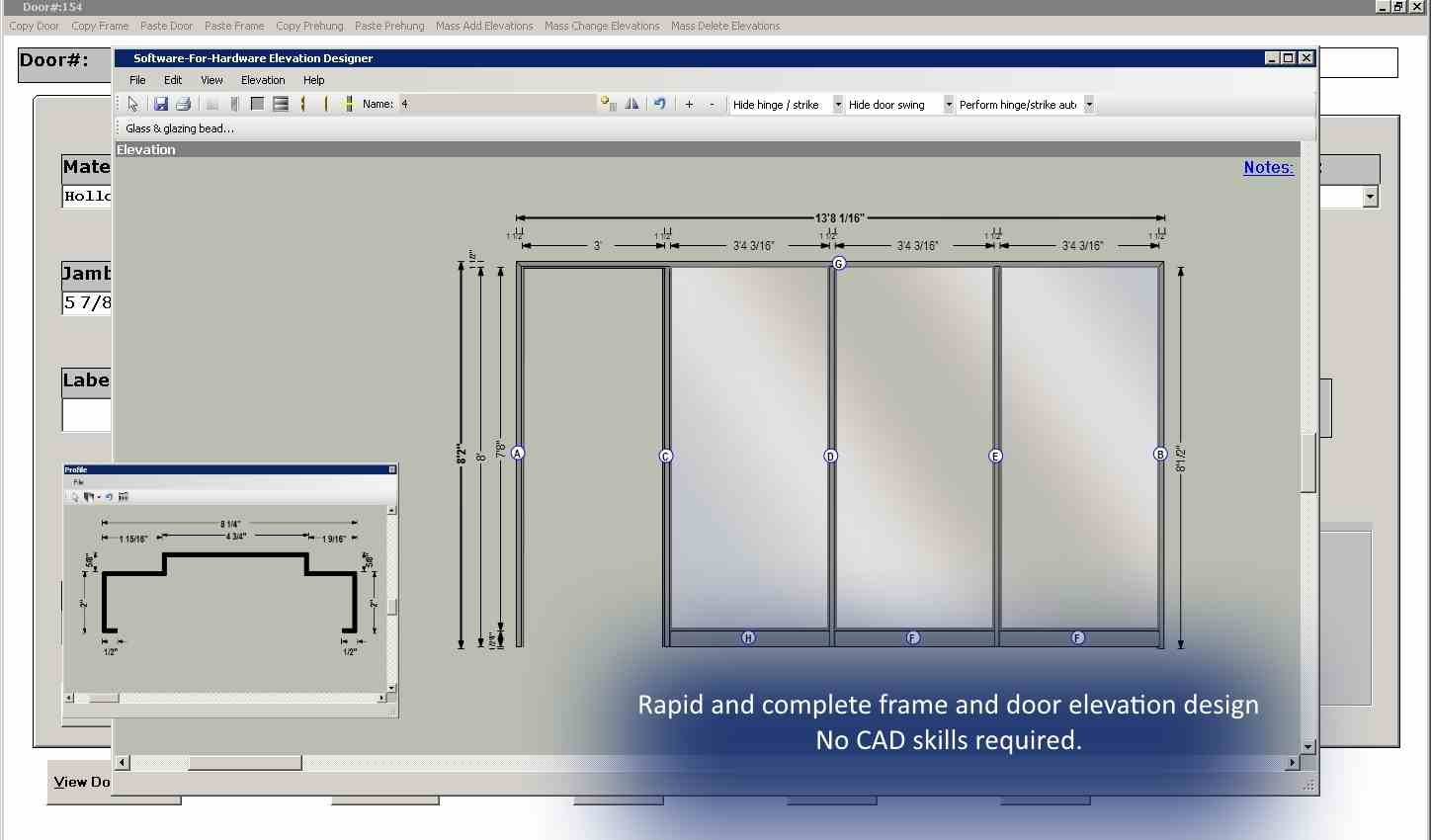 Frame Designer  sc 1 th 172 & Software for Hardware LLC